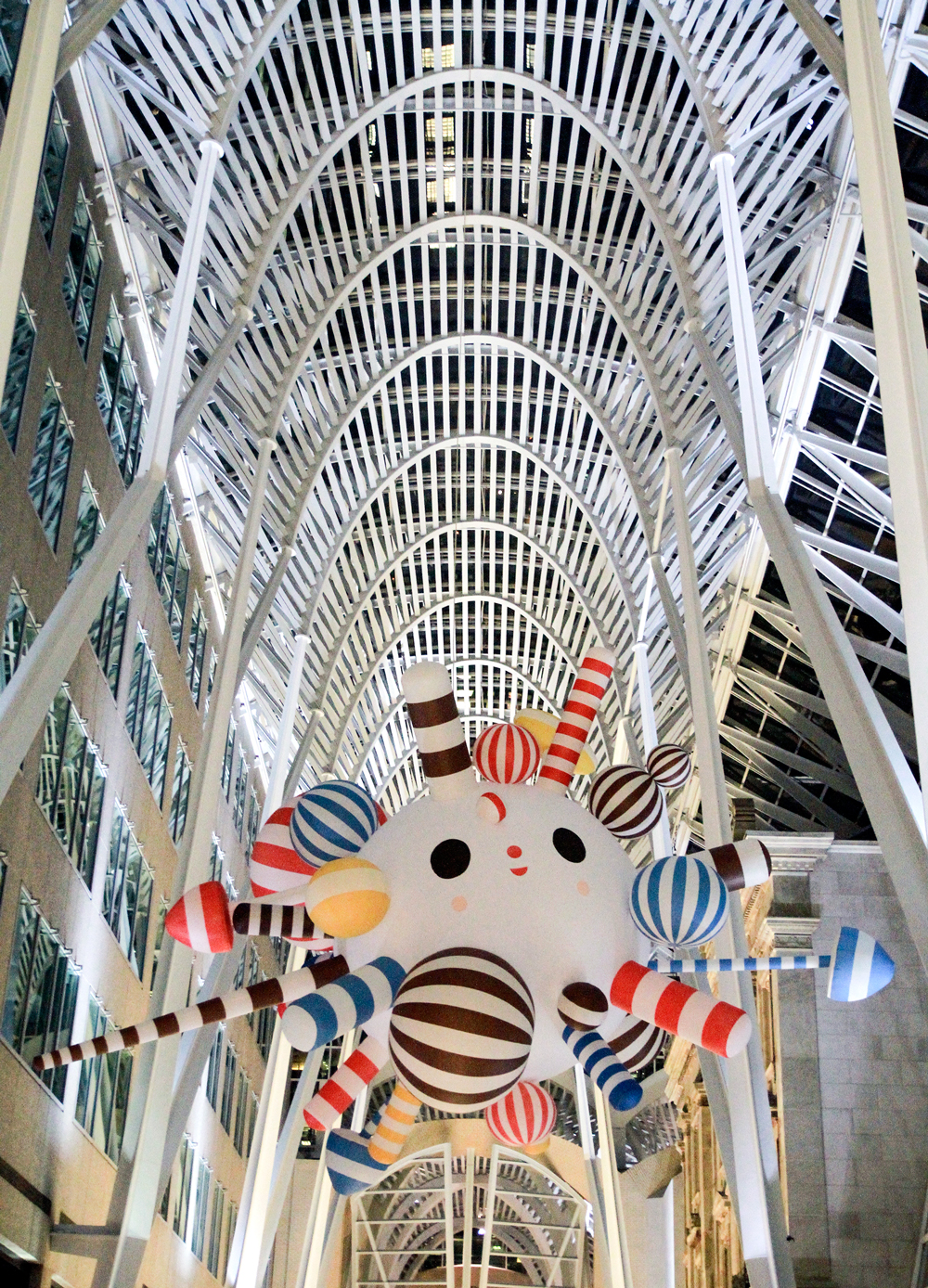 FriendsWithYou Starburst Art Installation at Brookfield Place in Toronto