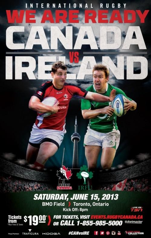 Canada v Ireland Joseph Morris