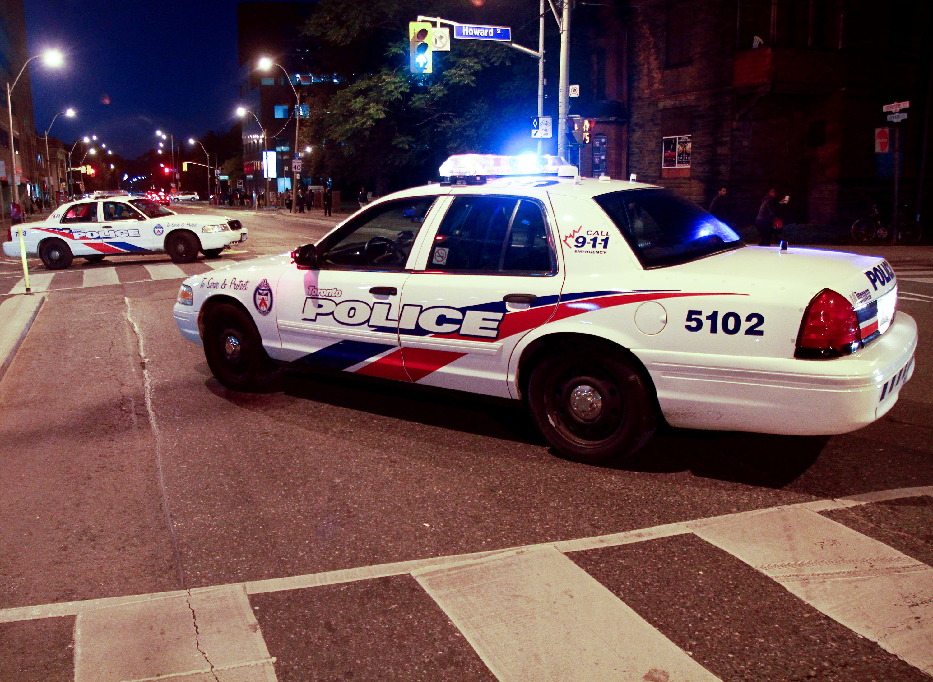Toronto Shooting Bloor and Sherbourne