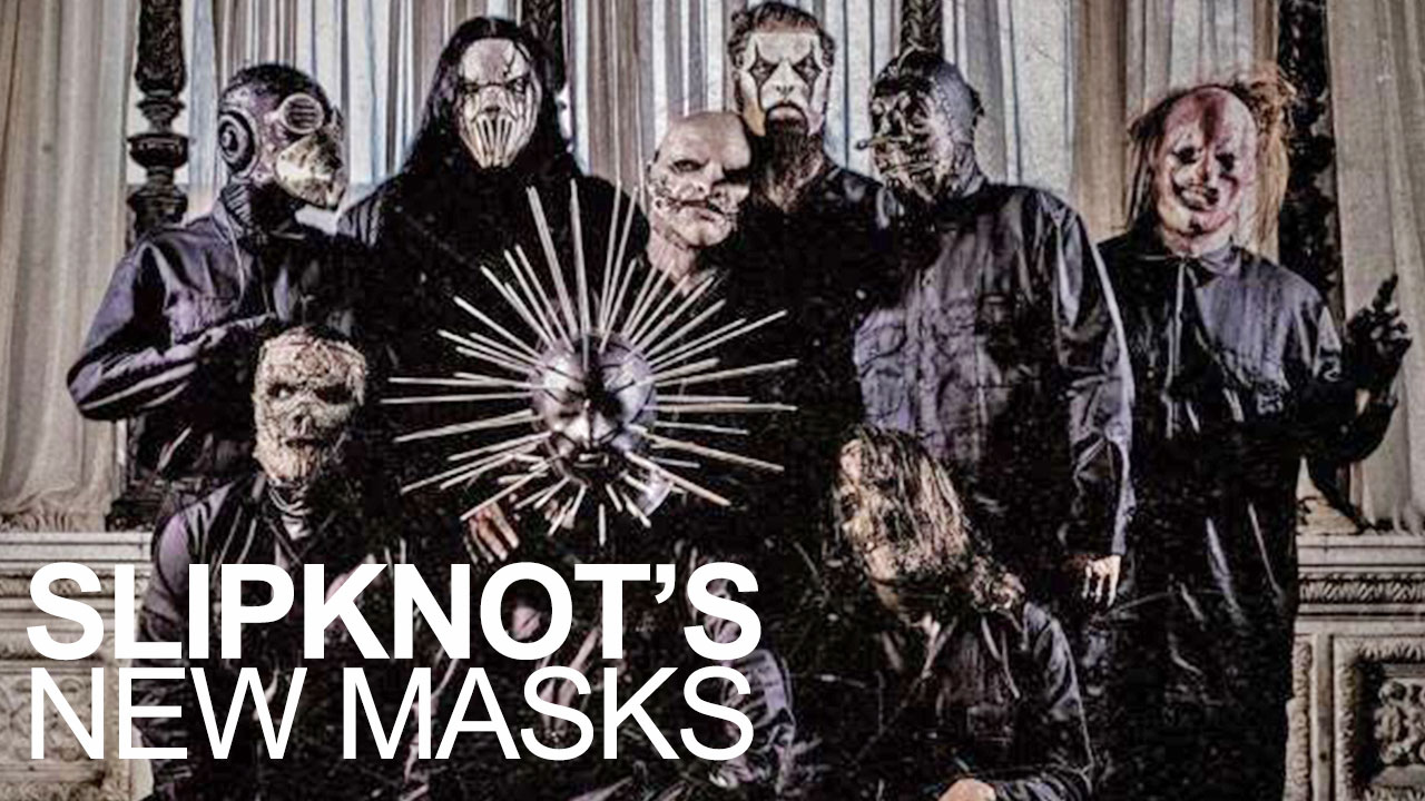 Slipknot Has New Masks For Their Album 5 The Gray Chapter