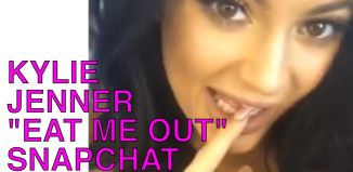 kylie jenner eat me out snapchat