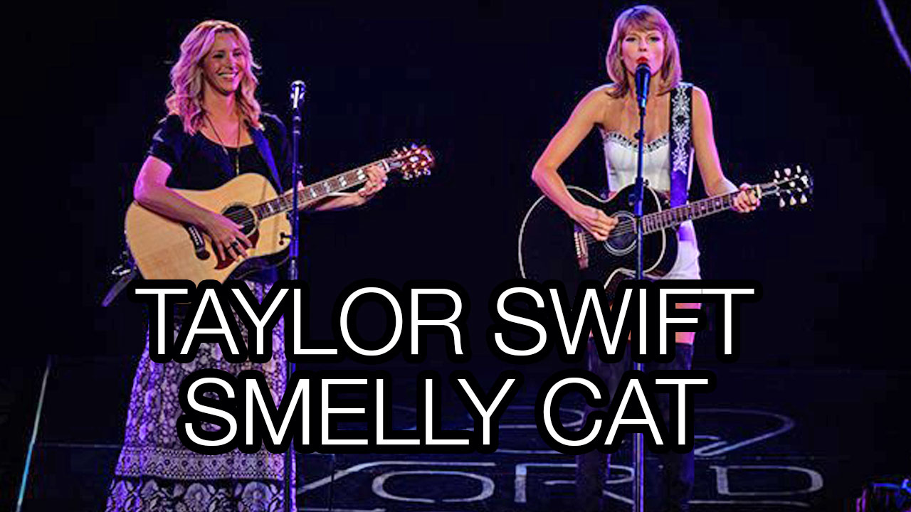 taylor-swift-smelly-cat-lisa-kudrow-staples-center-los-angeles