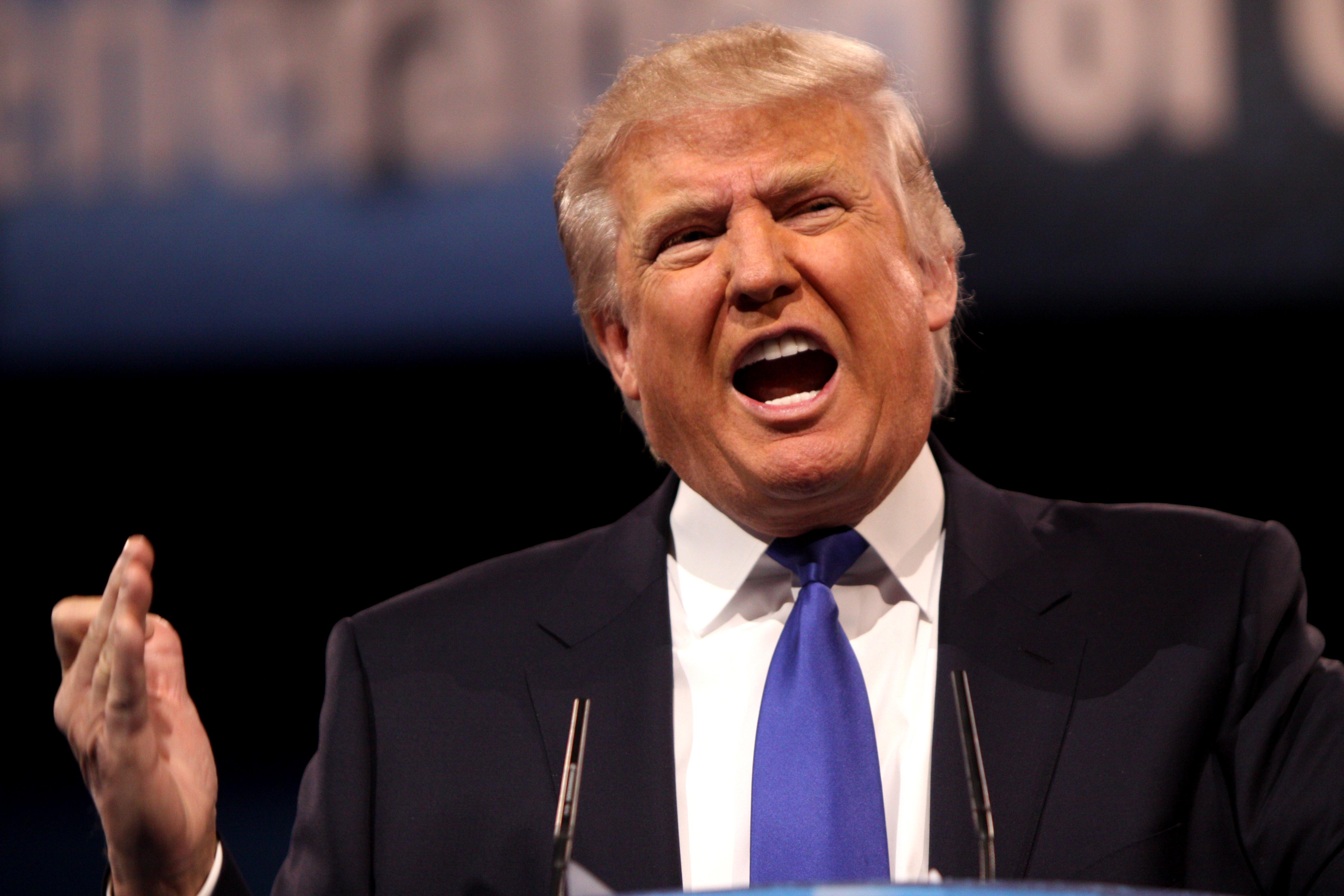 GOP Debate Donald Trump Muslims
