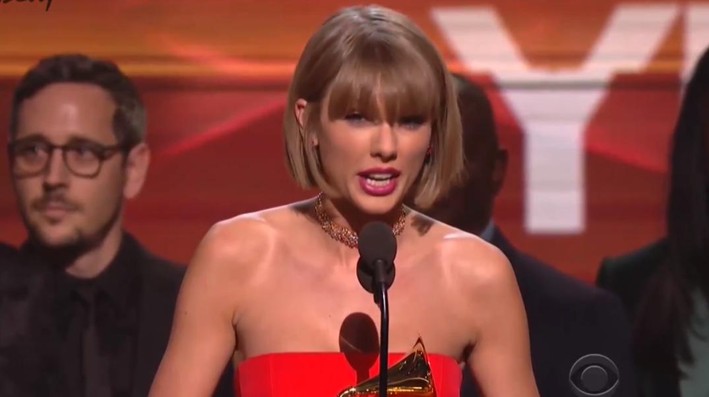 Taylor Swift Kanye West Grammys