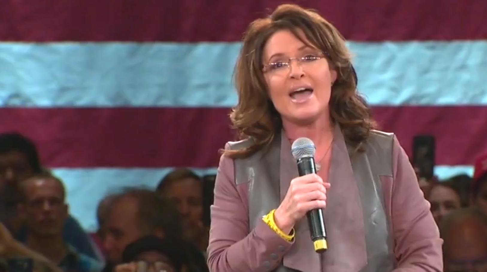 Sarah Palin Donald Trump Punk Ass Thuggery