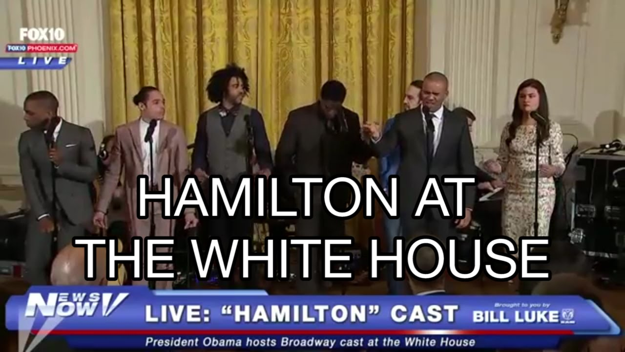alexander hamilton song white house