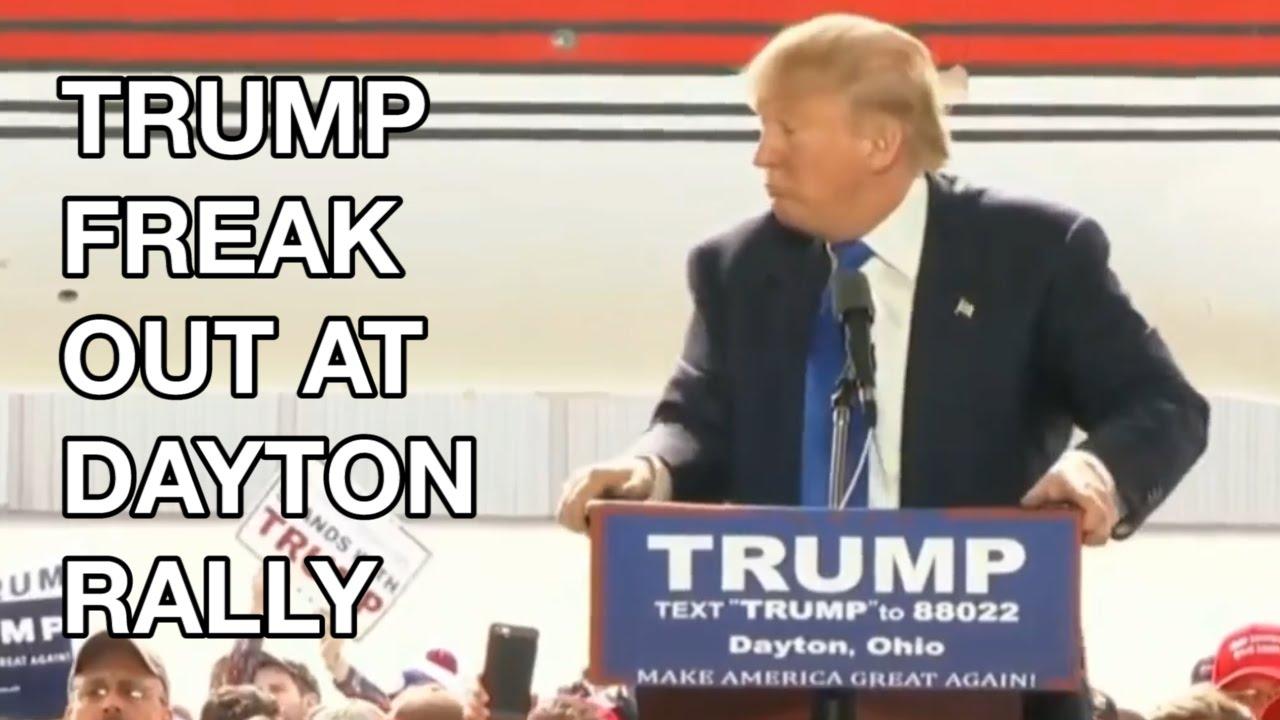Donald Trump FREAK OUT at Dayton Ohio Rally, Chicago Rally