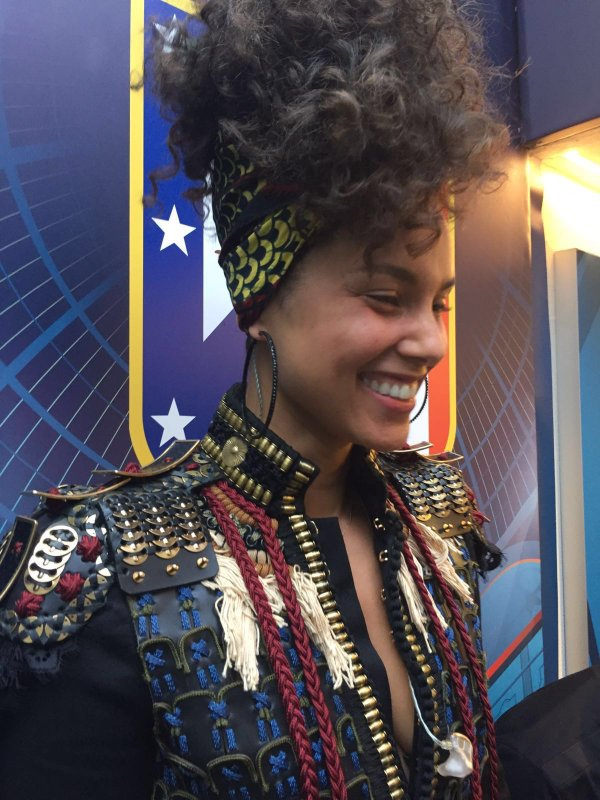 Alicia Keys UEFA Champions League Final Opening Ceremony