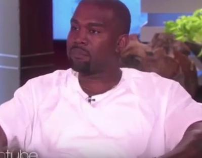Ellen Degeneres Kanye West Rant