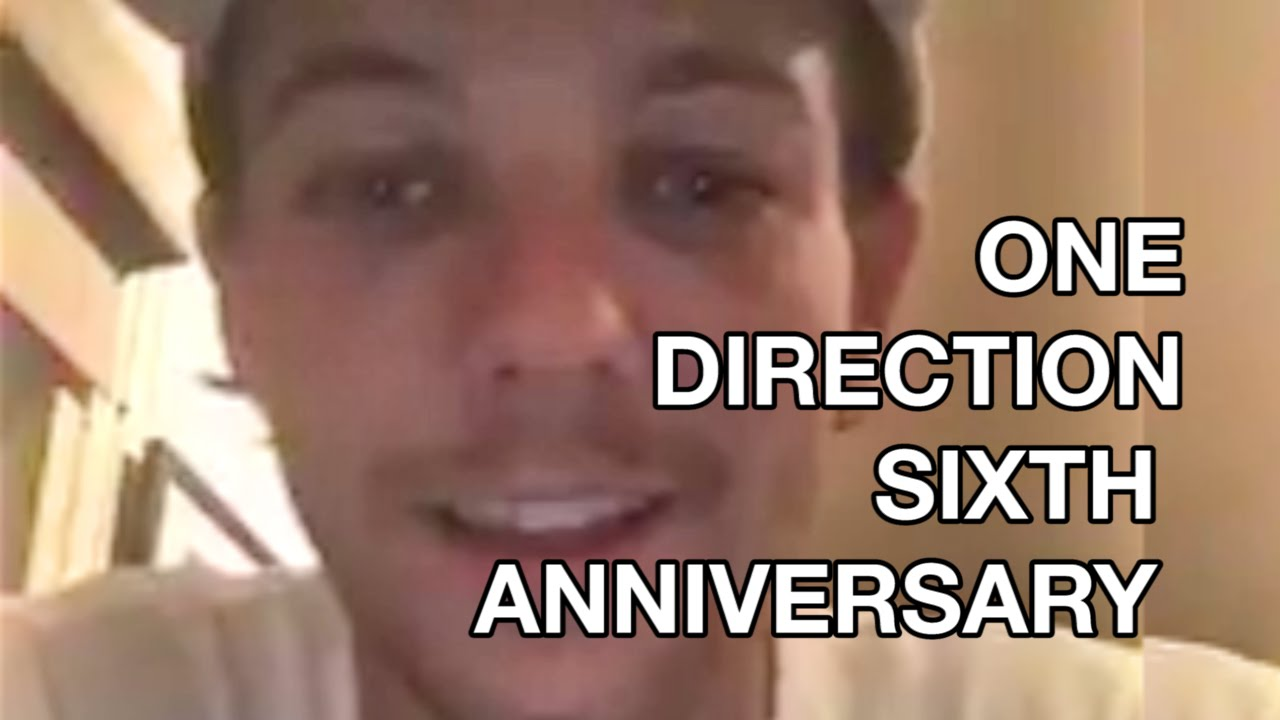 6 Years of One Direction: Anniversary, Louis Tomlinson