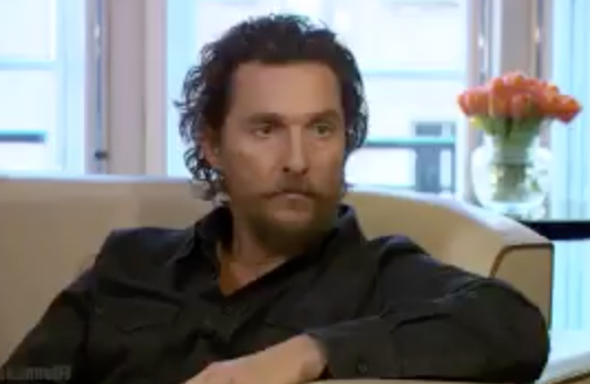 """Matthew McConaughey: """"It's time for us to embrace"""" President Donald Trump, """"They don't have a choice now"""""""