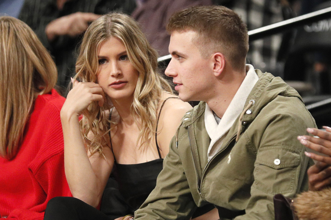 Genie Bouchard Date: Pays off Super Bowl Bet Bet at Nets Games