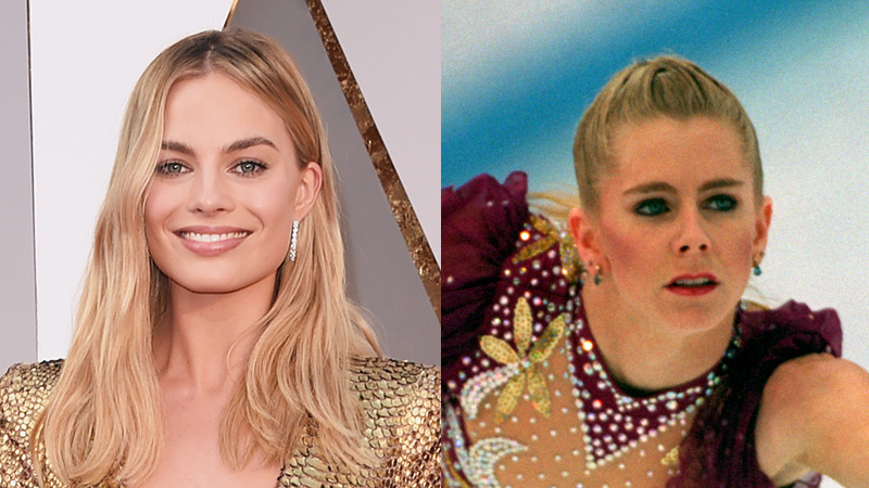 Margot Robbie as Tonya Harding Behind The Scenes: SUCK MY D***!