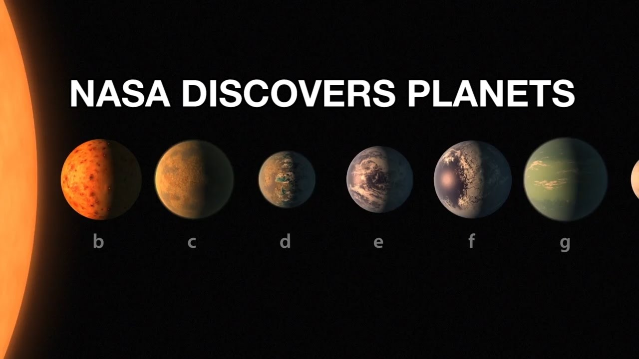 NASA Announcement 7 New Earth-like exoplanets discovered ...