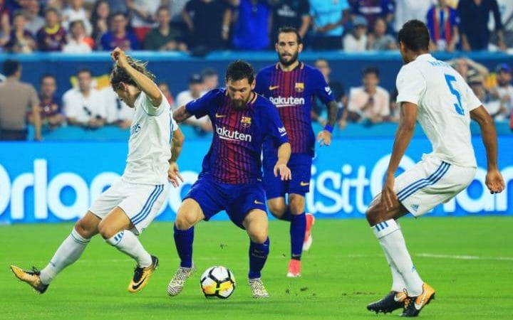 Real Madrid 2 Barcelona 3 Highlights ALL GOALS: Messi, Rakitic and Pique El Clasico win, Neymar Rumors