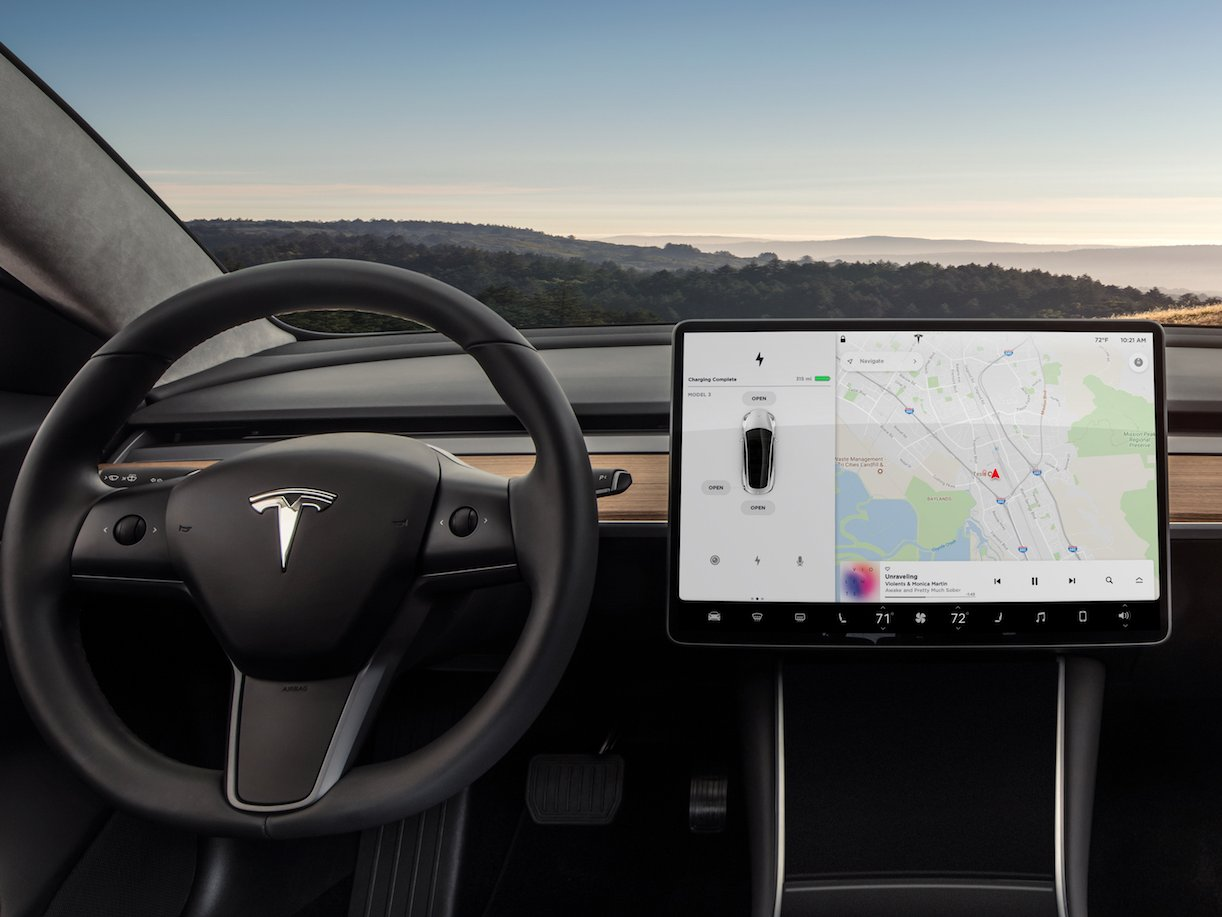 Tesla Model 3 Review 2017: One of the biggest design changes in automotive history, no instrument cluster