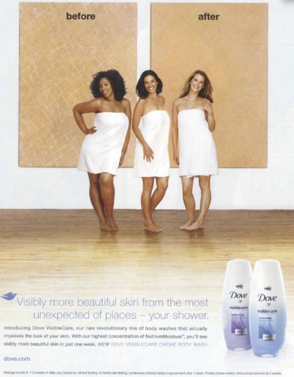 Racist Dove Ad – Black woman turns into white woman to advertise soap