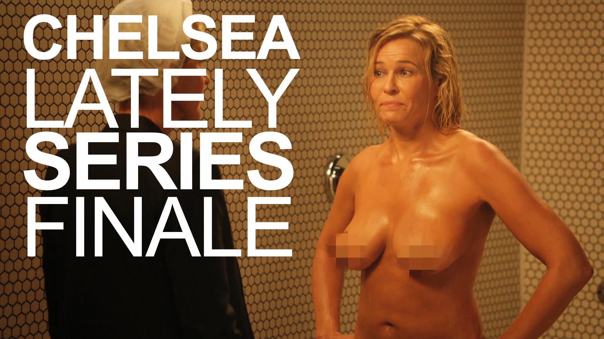 Chelsea handler jokes about her nude shower scene with ellen degeneres
