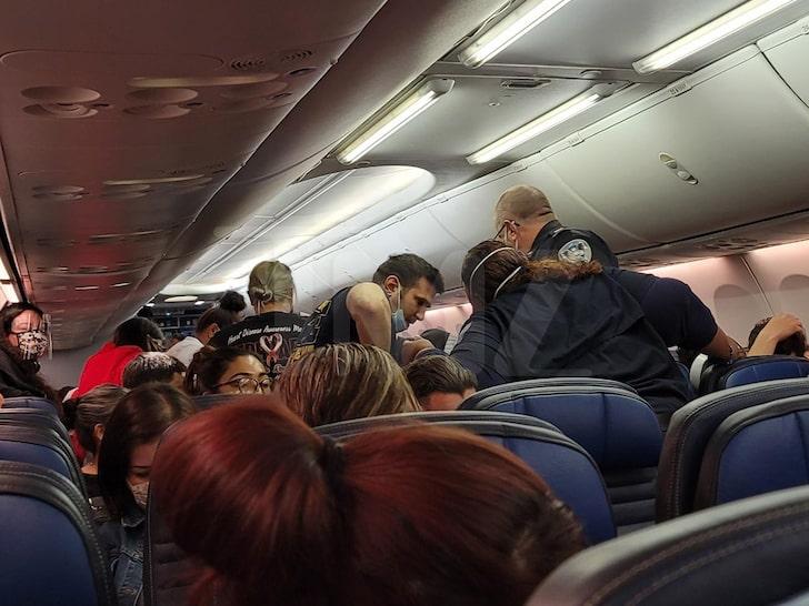 Hot United Airlines Naked Passenger Gif